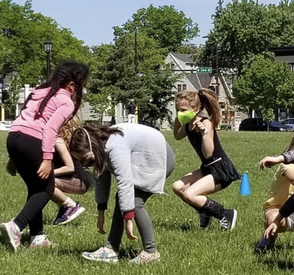 Outdoor MotionArt Children's Classes